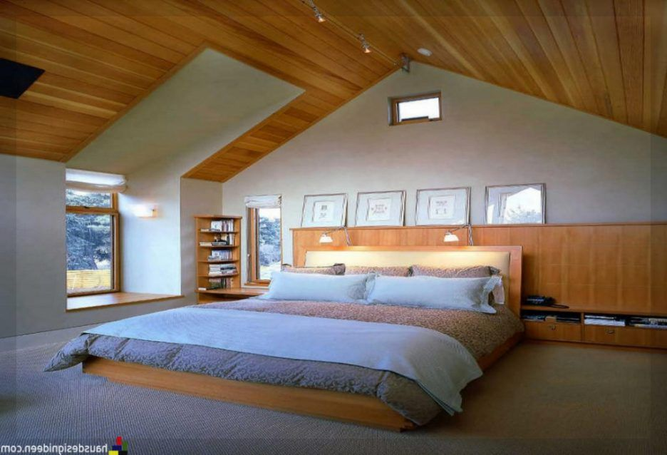 Superb Innenarchitektur : Ger\u00e4umiges Schlafzimmer Ideen Dachboden Amazing Ideas