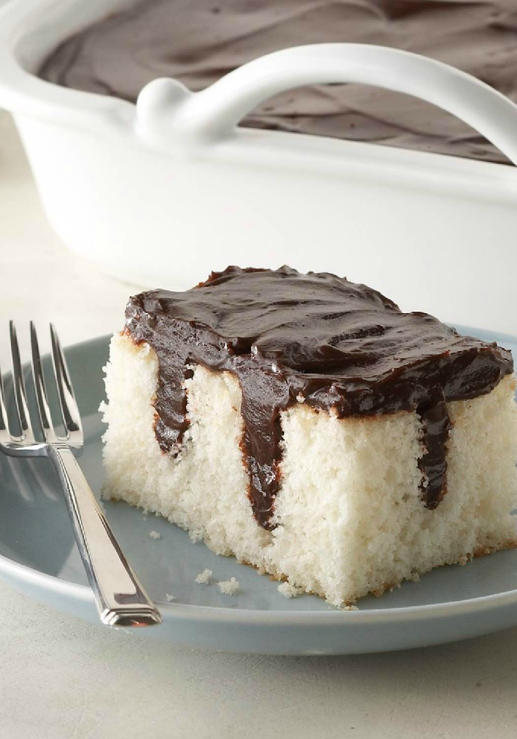 Chocolate Pudding Poke Cake – What's better than chocolate pudding ...