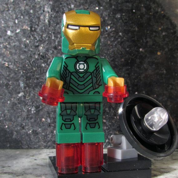 LEGO® Marvel Iron Man MAGNET Set Sealed Minifigure Minifig Toy