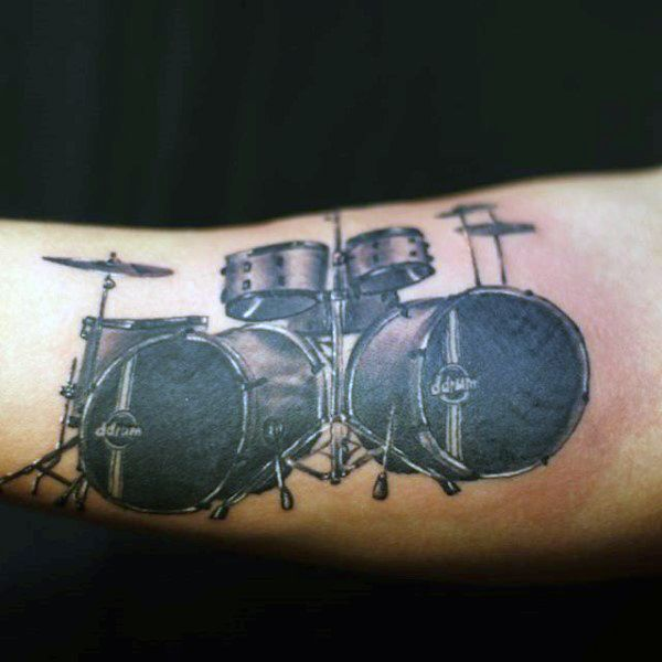 Top 67 Drum Tattoo Ideas 2020 Inspiration Guide Drum Tattoo Tattoos For Guys Drummer Tattoo