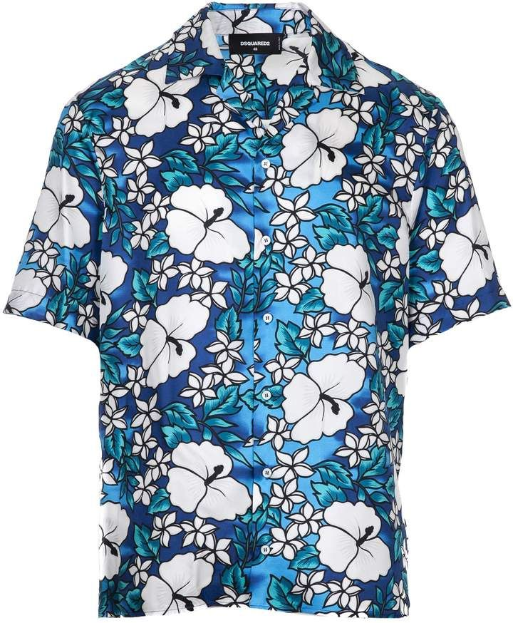 613b00c9e DSQUARED2 2 Hawaii Print Shirt | Products in 2018