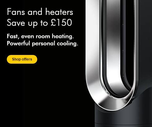 Save Up To 150 On Dyson Fans Heaters During The Black Friday