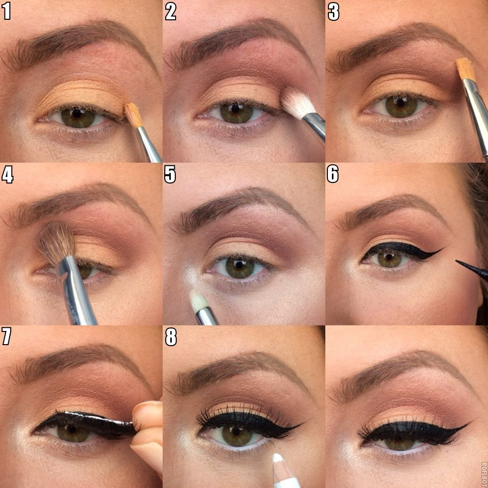 Simple tutorial natural eye makeup for daily use hairbeauty simple tutorial natural eye makeup for daily use baditri Choice Image