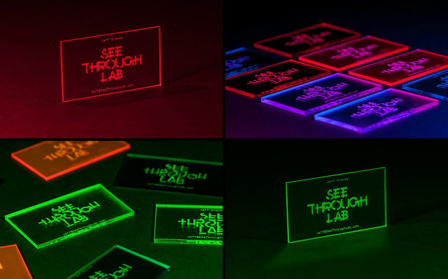 See Through Lab   Labs, Business cards and Brand identity