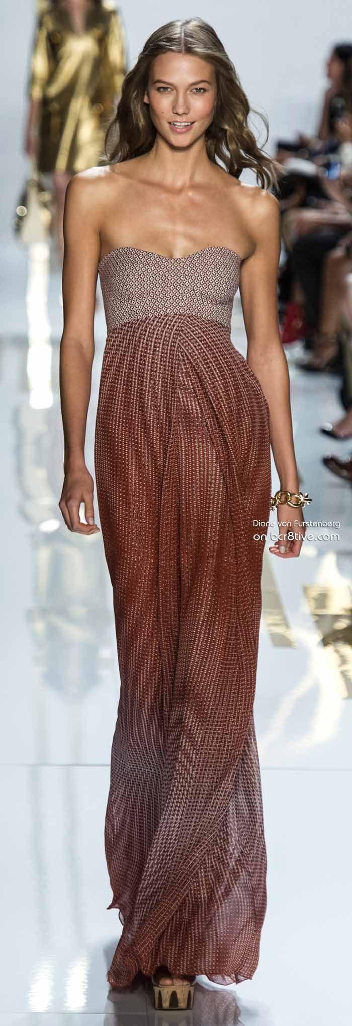Karlie Kloss Diane von Furstenberg Spring 2014 #NYFW