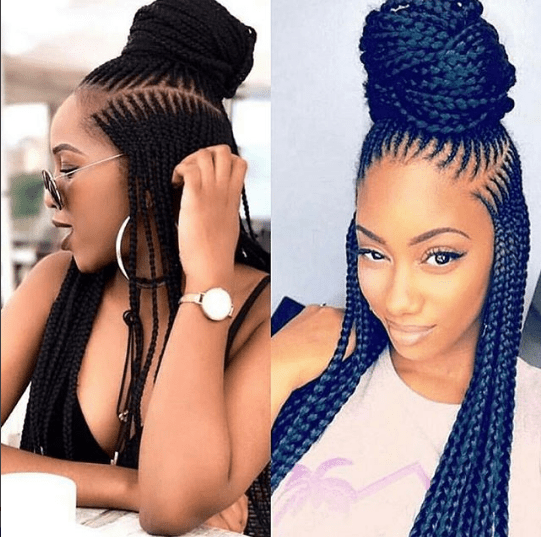 New Ghana Weaving Hairstyle 2017 2018 Hair Styles Braided Hairstyles Braided Hairstyles Easy