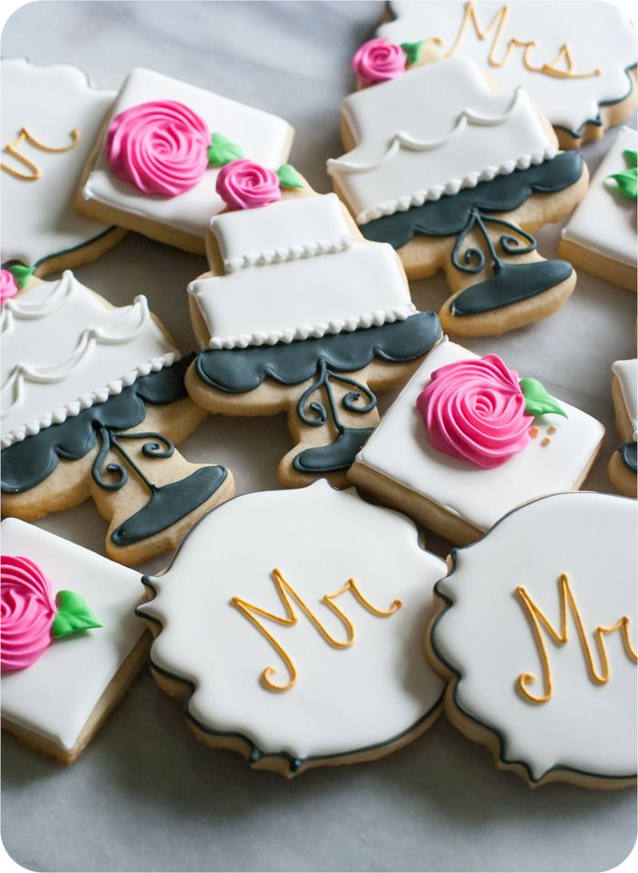 ba1d8d0d6f21 how to make decorated wedding cookies  cakes