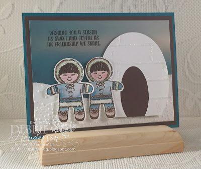 Debbie's Designs: Merry Monday Challenge #226. Debbie Henderson #stampinup #debbiehenderson #debbiesdesigns #cookiecutterchristmas #merrymonday