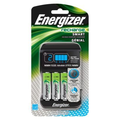 Energizer Recharge Pro Charger For Nimh Rechargeable Aa And Aaa Batteries Energizer Battery Nimh Battery Rechargeable Battery Charger