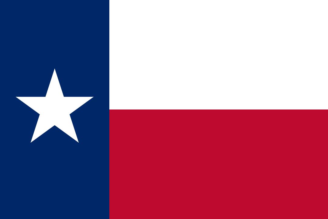 Texas – Bandiera