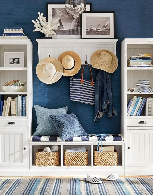 Cool Simple Coastal Entryway Storage Ideas With Benches Gmtry Best Dining Table And Chair Ideas Images Gmtryco