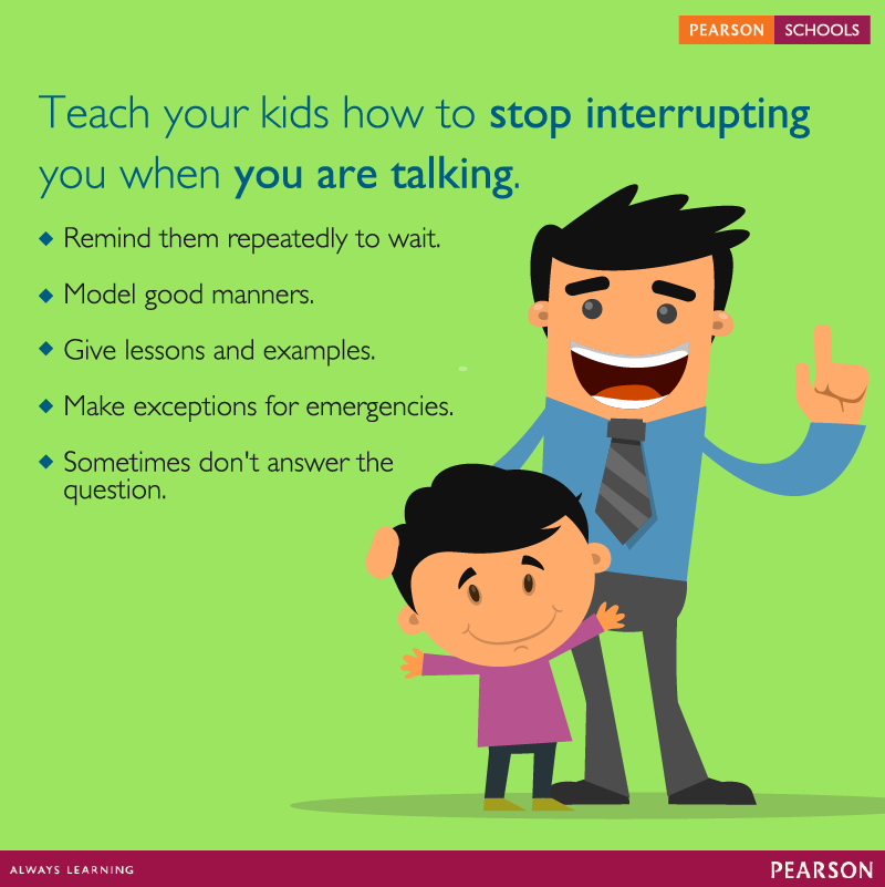 352431849f Kids are curious and impatient. It gets frustrating when your child  constantly interrupts you. Here are some strategies to work with the  interrupting child.
