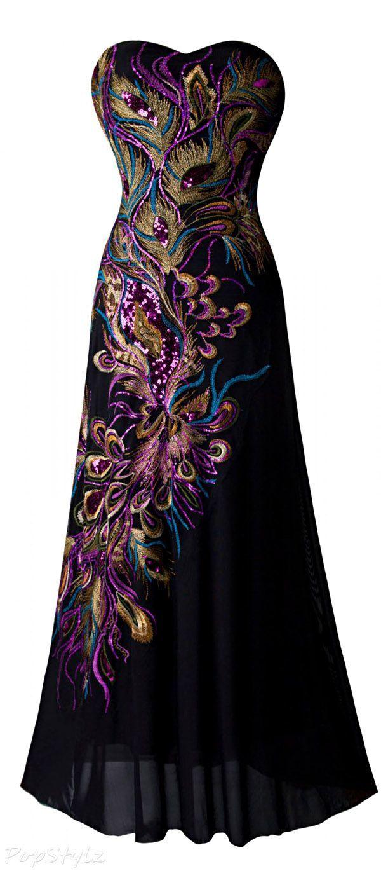 Robe de soiree angel fashion