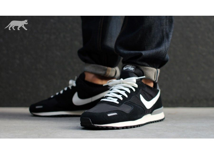 new product 14945 08db7 Startseite Nike Air Vortex Retro Black Summit White Dark Grey