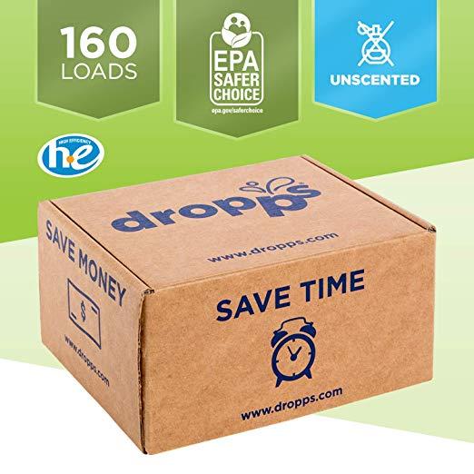Amazon Com Dropps Sensitive Skin He Natural Laundry Detergent