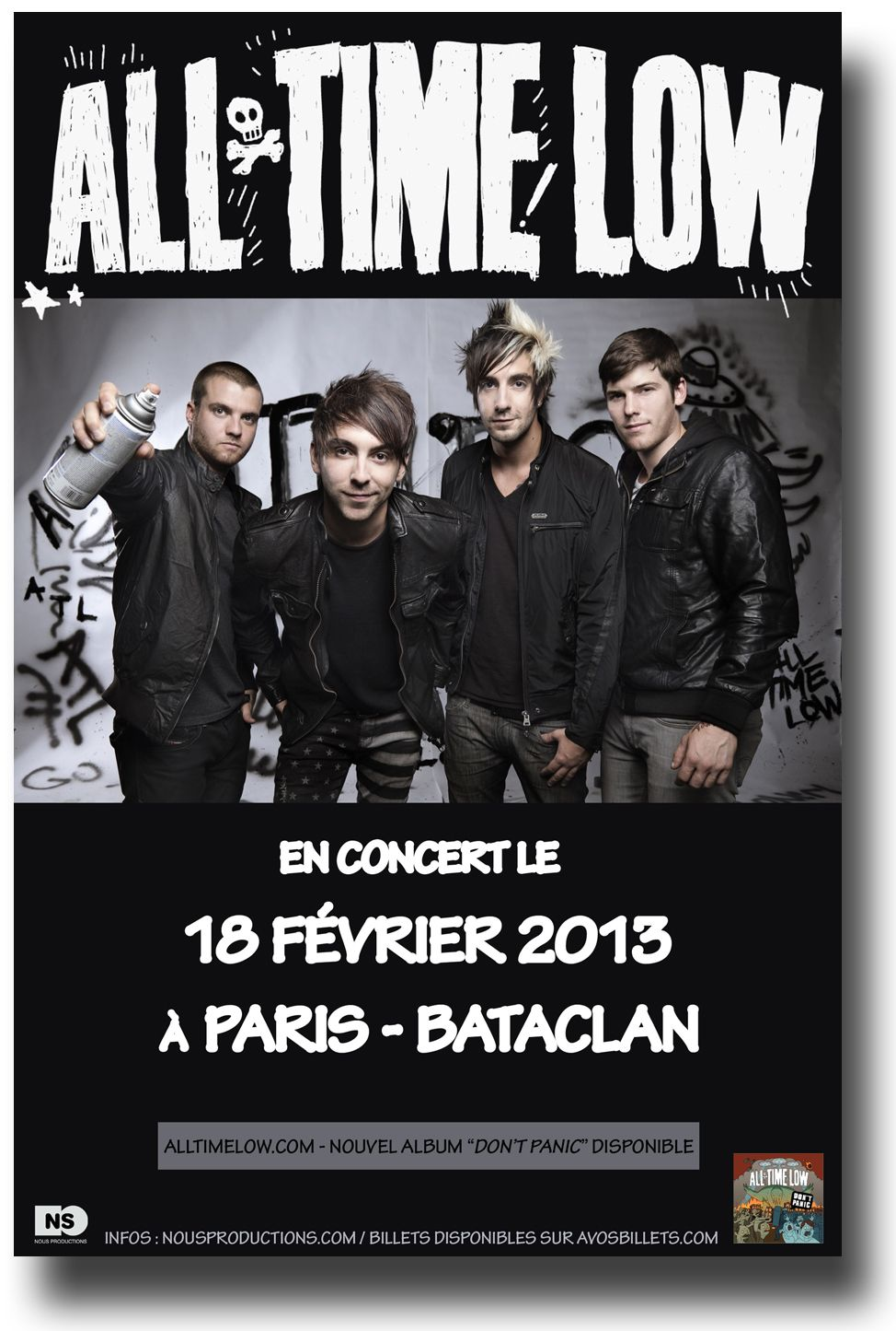 All Time Low Poster Concert   Concert Posters