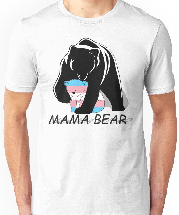 Transgender Pride Mama Bear Unisex T-Shirt