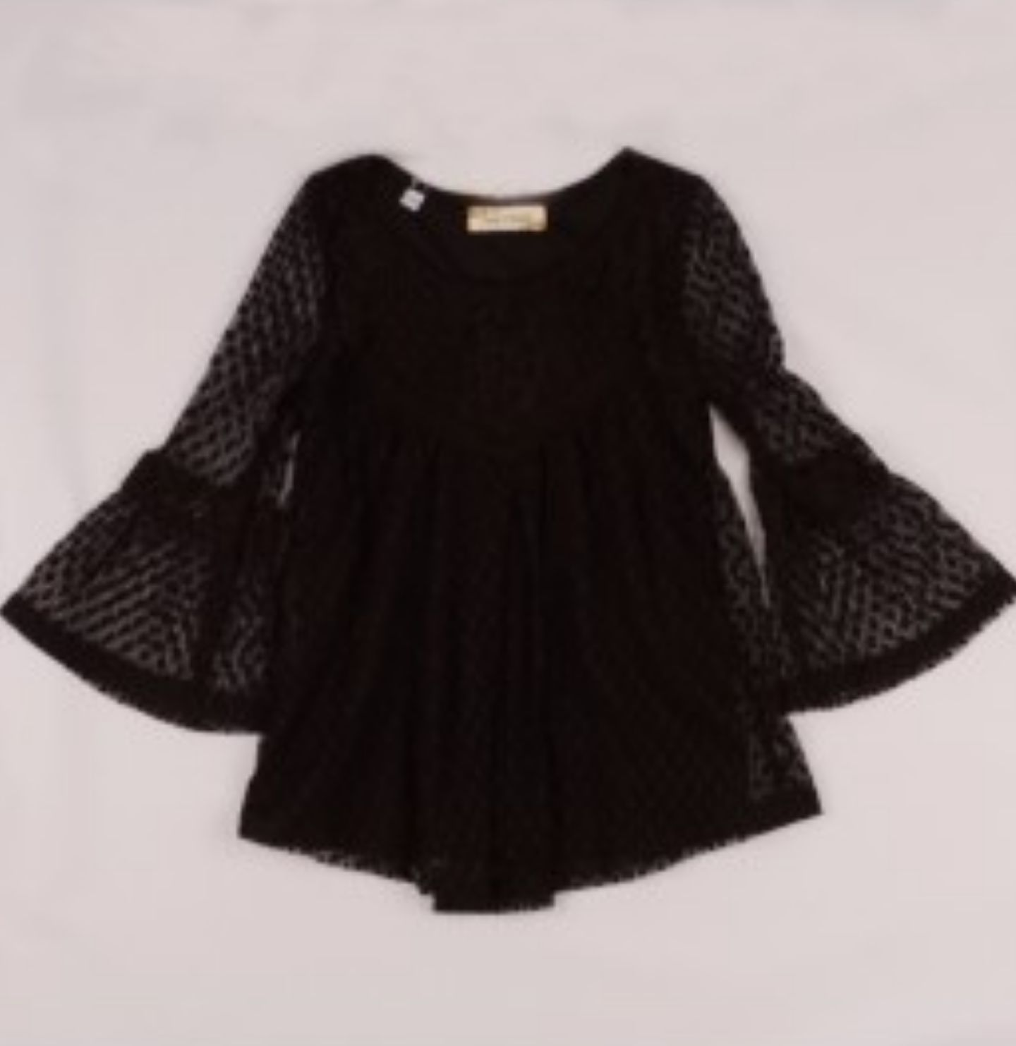 Girls lace top with bell sleeves products pinterest products