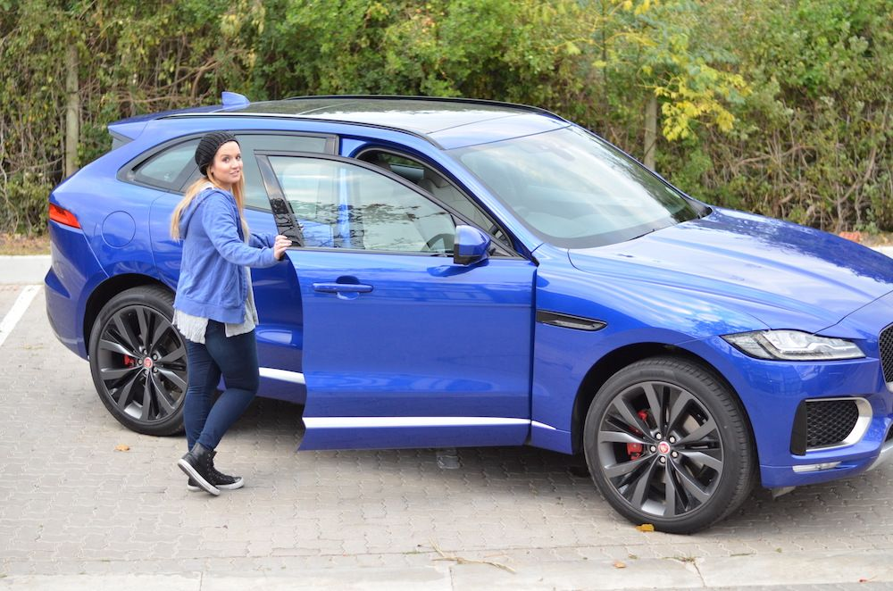 The Jaguar F Pace Is The Sporty Suv For The High Achiever Tech Girl Sporty Suv Jaguar Car Cost