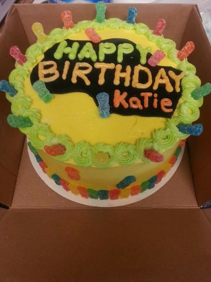 Sour Patch Kids Cake More