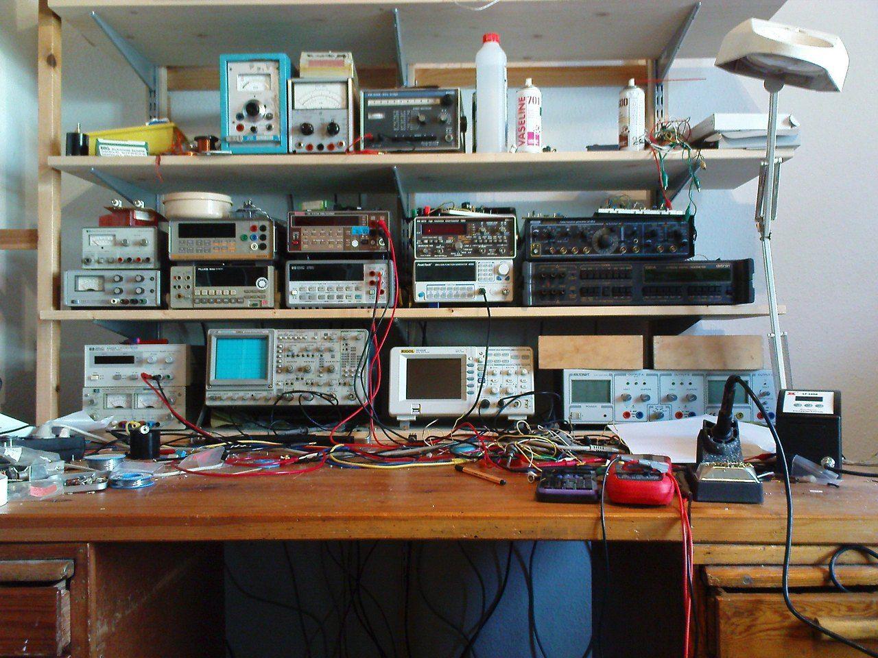 amateur radio electronic workbench  whats-your-work-benchlab-look-like-post-some-. Electronic WorkbenchEnergy  SaverDiy ElectronicsGarage WorkshopHam RadioRoboticsLight ...