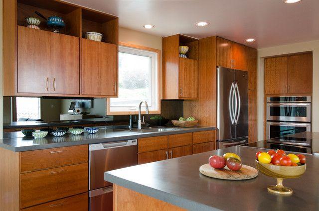 Kitchen Mid Century Cabinets