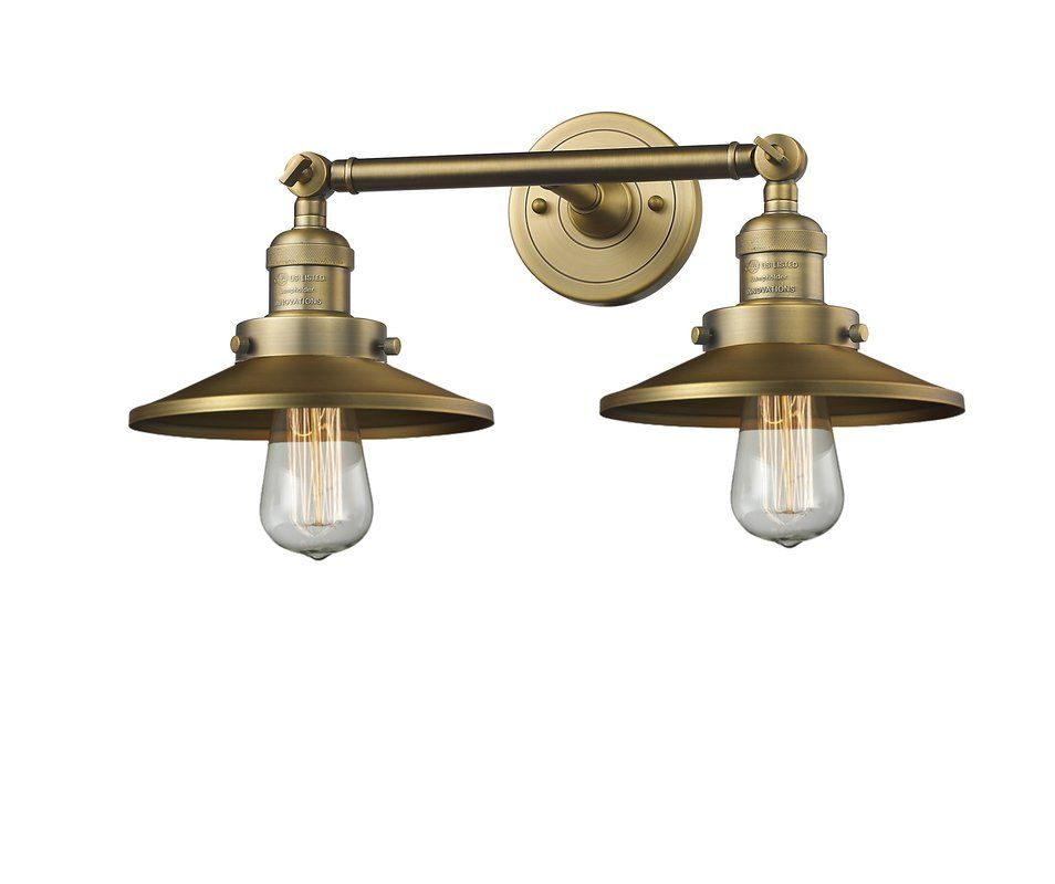 Photo of Mikesell 2-Light Dimmable Vanity Light
