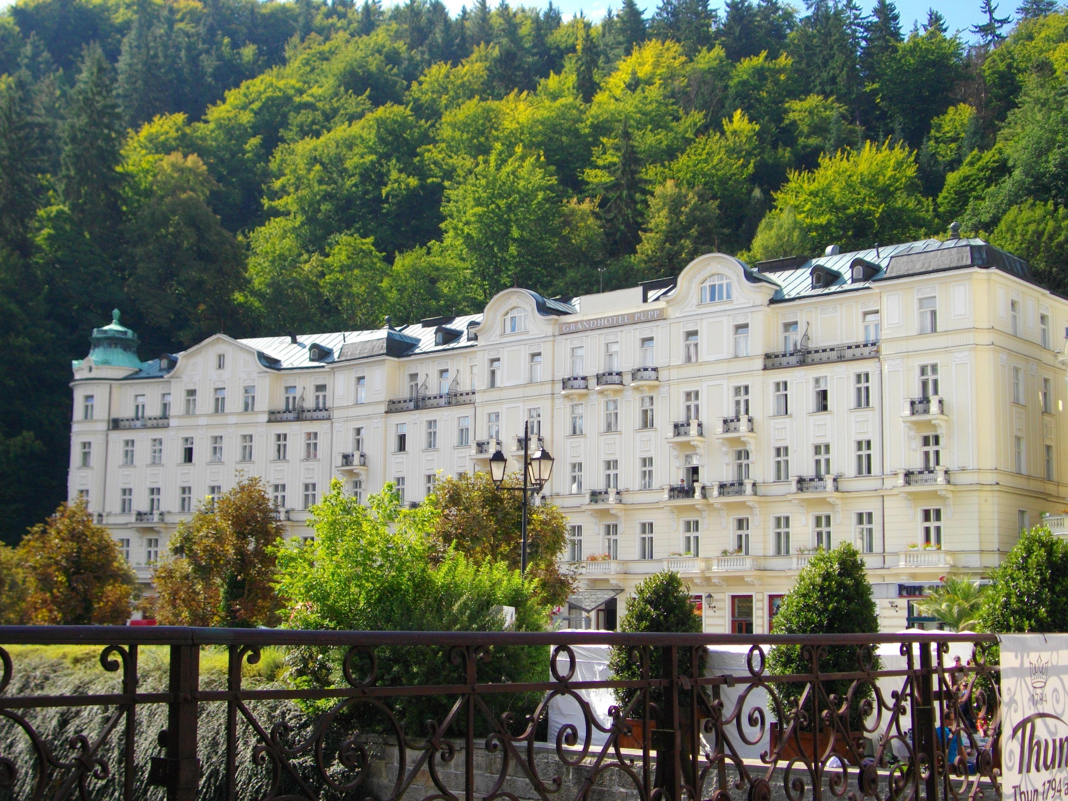 Grand Hotel Pupp Karlovy Vary Czech Republic Grand Hotel Secret Places City