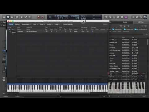 How To Assign Samples To AKAI MPK Mini on Logic Pro X