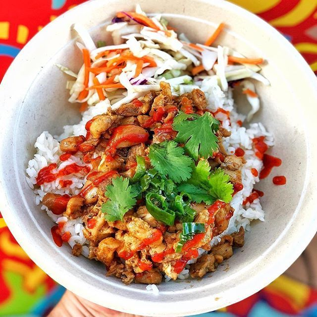 Honey Sriracha Chicken Rice Bowl From Thecoconuttruck Tag A Friend