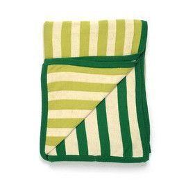 Sneaky Stripes Cotton Throw Blanket