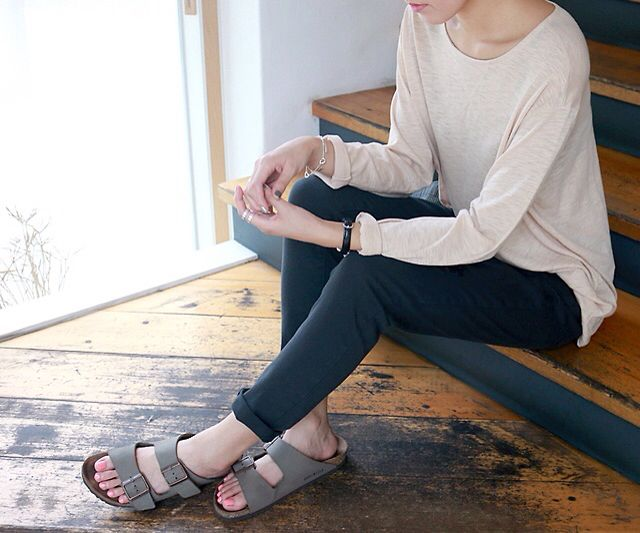 Casual outfit with Birkenstock