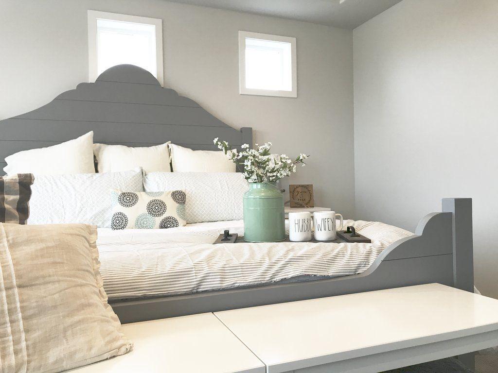Diy Shiplap Bed Frame In 2020 Diy Shiplap Bed Frame Frame