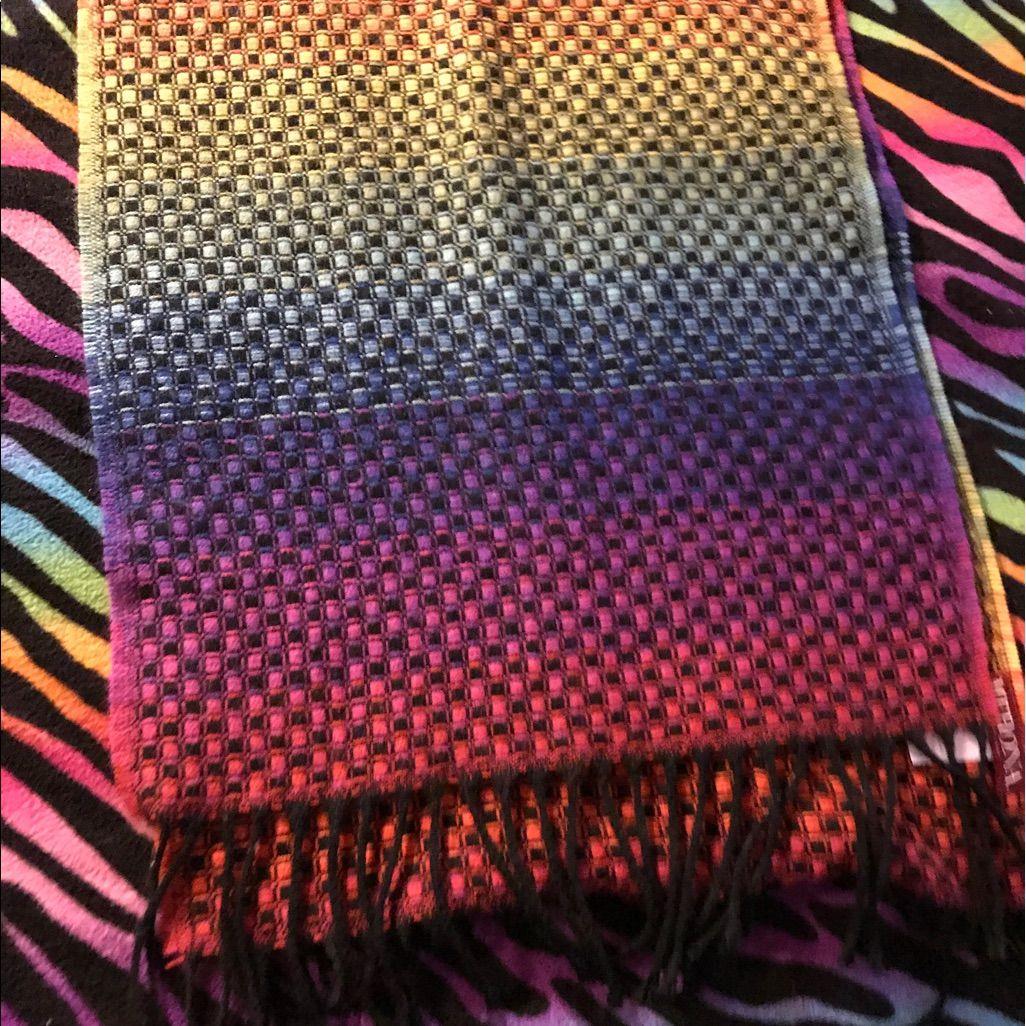 Photo of Rainbow Knit Scarf