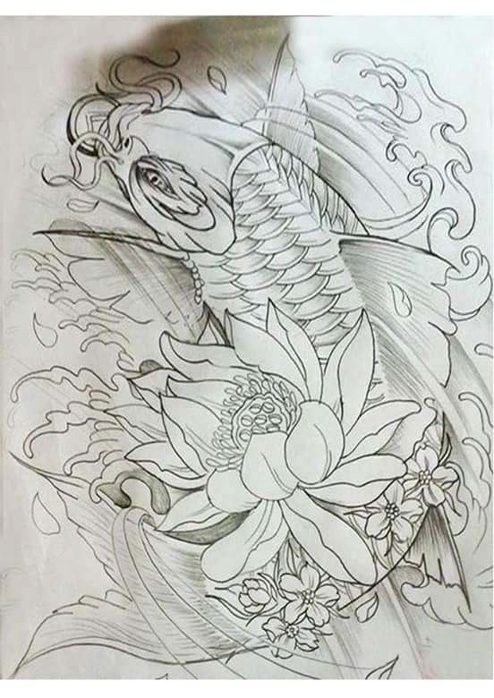 Carpas Pictures Tatuagem Carpa Desenho De Carpas E Tatuagem