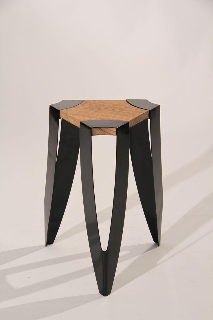Coup De Cœur Troika Stool Par Alex O Connell Floriane Lemarie Metal Furniture Furniture Furniture Design