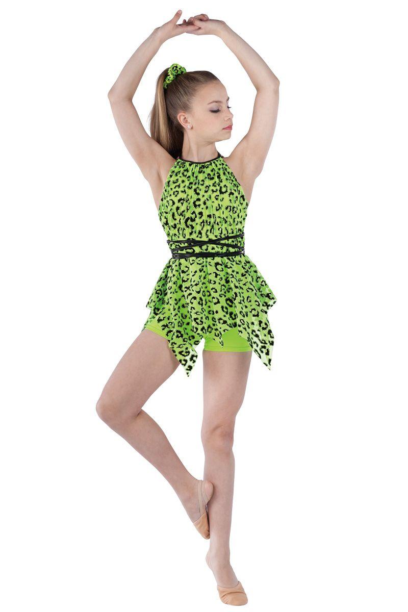 Heart Dance Dress Costume Jazz Tap CLEARANCE Adult Medium /& Large