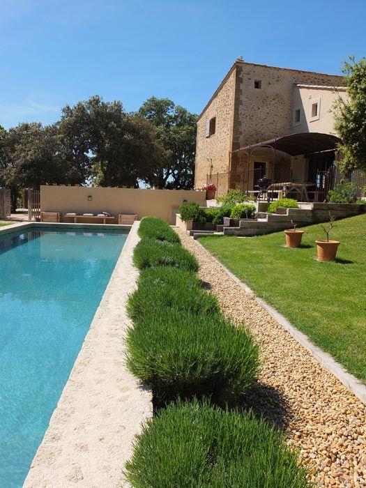 La Bergerie de Nano A la nage Pinterest Bordure pelouse - amenagement bord de piscine