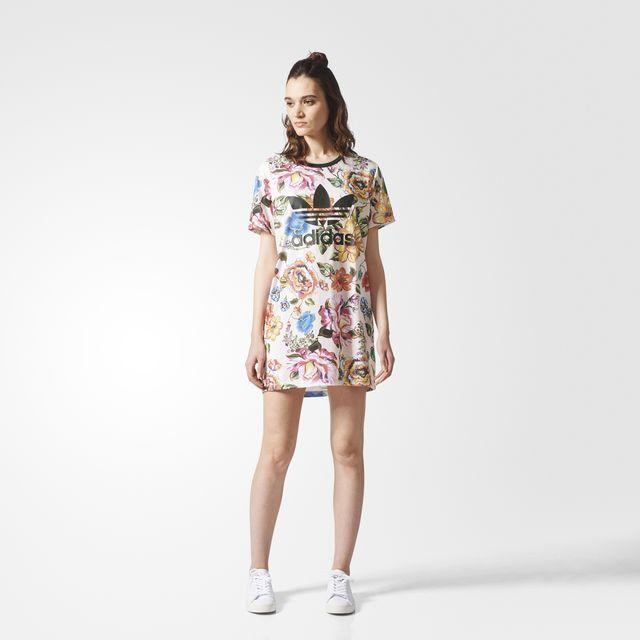 Vestido floreale l pinterest adidas, floreale e vestiti