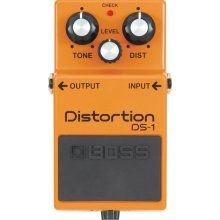 Boss DS-1. most amazing pedal for a one channel all tube amp.