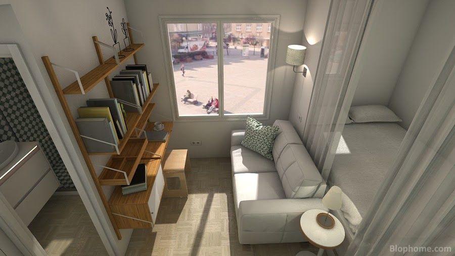 Pequena Casa 15m2 Funcional Y Estetico Mit Bildern Kleines Hauschen Haus