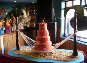 Hawaiian Baby Shower Cake Hawaiian Baby Shower Decoration Ideas 304x220