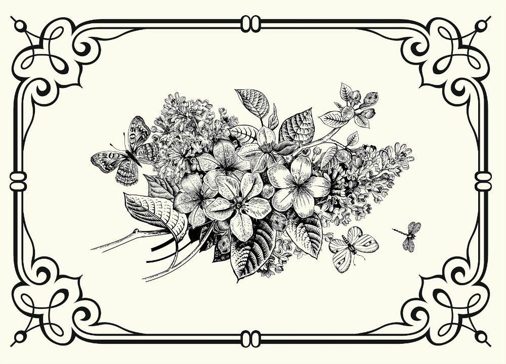 Картинки для печати на принтере в хорошем качестве черно белые, картинки