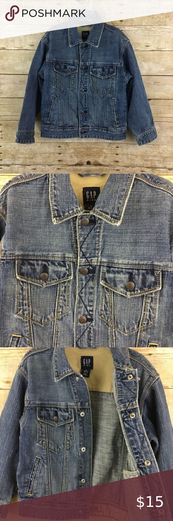 Gap Kids Jean Jacket Gap Kids Jean Jacket Size Small 6 7 Condition Preowned Item S26 Please See Pictures For Accurat Kids Jeans Jacket Jeans Kids Jackets [ 1740 x 580 Pixel ]