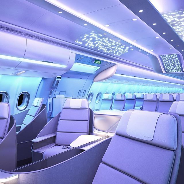 Inside The Radical Airline Cabins Of The Future With Images