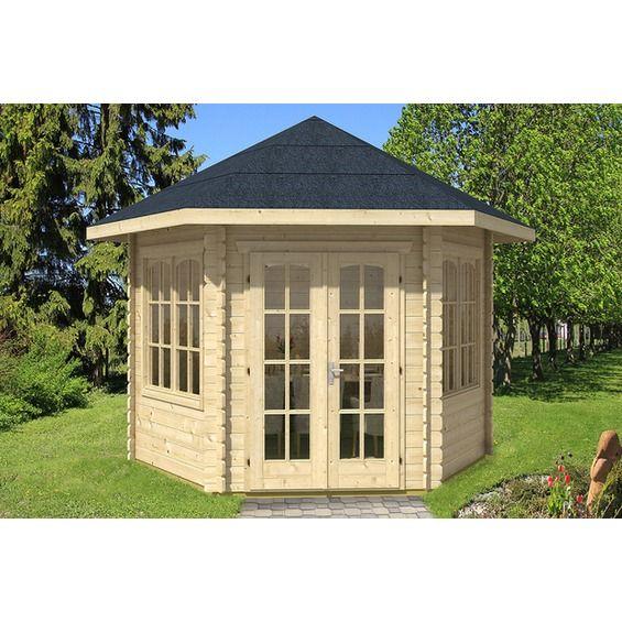 Skan Holz Gartenhaus Madeira 2 B X T 350 Cm X 303 Cm Kaufen Bei Obi Pavillon Holz Pavillon Gartenhaus