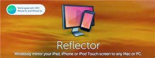 ICT-idee: 181. Reflector: Op projectiescherm/digibord tonen wat je op iPad doet.