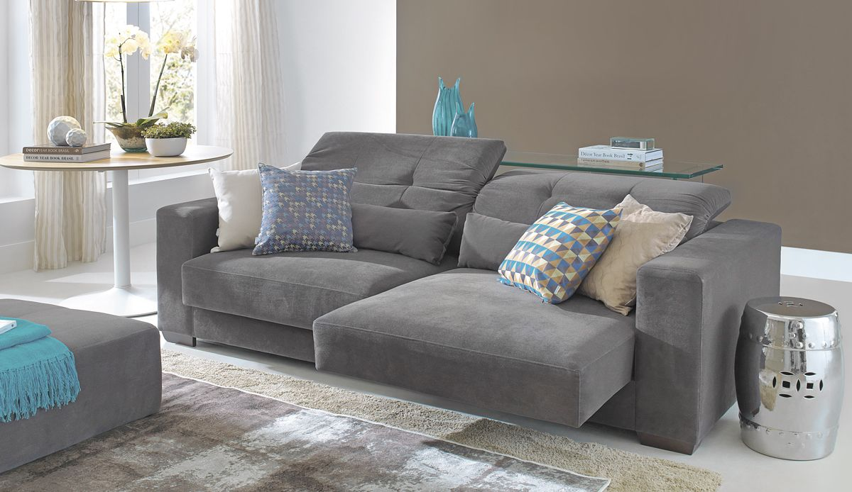 Como Escolher O Sof Living Rooms Living Room Ideas And Room -> Sala De Estar Decorada Tok Stok