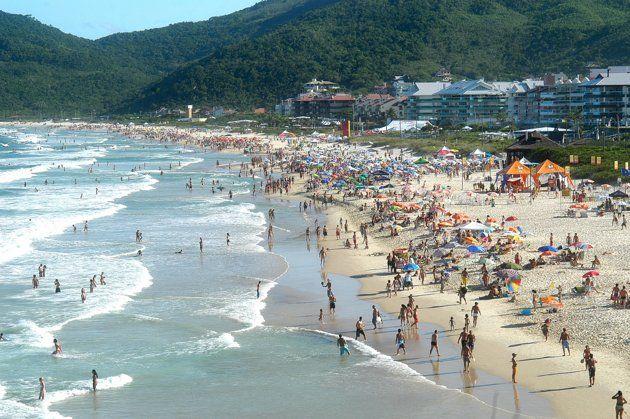 4 Florianópolis Brasil Es La Capital Del Estado De Santa Catarina Cuyas Costas Son Bañadas Por El Océano Atlántico Es Un Polo Mar Y Playa Playa Turistico