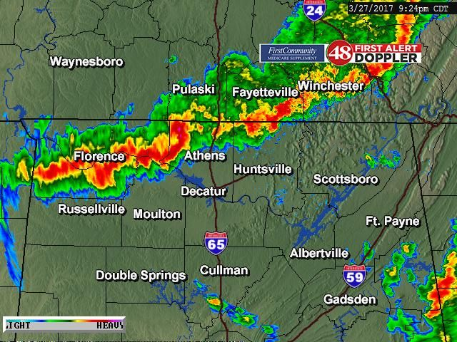 First Alert Doppler Loop - WAFF-TV: News, Weather and Sports